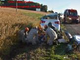 Maracaju: Grave acidente de colisão frontal na MS-162, entre caminhão e veículo de passeio