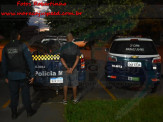 Maracaju: Polícia Militar recupera motocicleta furtada e prende um dos envolvidos no furto