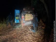Operação Hórus/MS: Polícia Militar Rodoviária apreende mais de meia tonelada de drogas com traficantes que tentaram fuga na região de Fátima do Sul