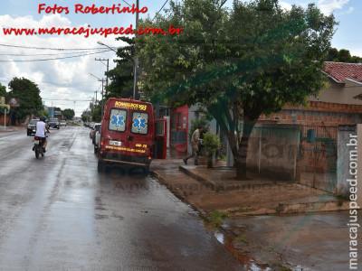 Maracaju: Corpo de Bombeiros, Polícia Militar e Polícia Civil atendem ocorrência de suicídio na Vila Juquita