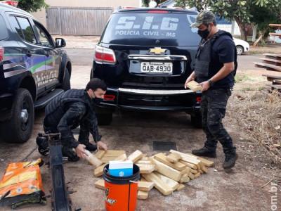 """Polícia Civil de Maracaju prende o quarto autor de roubo de caminhão ocorrido nos moldes do """"falso frete"""""""
