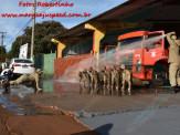 13º Subgrupamento de Bombeiros Militar Independente em Maracaju recebeu nesta segunda-feira (24), seis soldados recém formados do concurso do Corpo de Bombeiros realizado em 2018