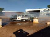 Maracaju: Corpo de Bombeiros atendem ocorrência de incêndio em veículo Kombi, em pátio de posto de combustível as margens da BR-267