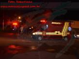 Maracaju: Corpo de Bombeiros e Polícia Militar atendem ocorrência de colisão entre veículo e motocicleta na Vila Juquita