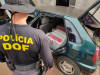 Maracaju: Veículo que seguia com mais de 200 quilos de maconha para Campo Grande foi apreendido pelo DOF