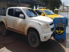 Polícia Militar Rodoviária recupera camionete furtada em Maracaju