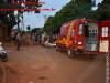 Maracaju: Bombeiros e Polícia Militar atendem ocorrência de acidente envolvendo motocicleta e veículo na Vila Adrien