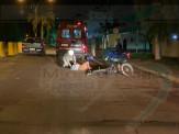 Maracaju: Homem sofre fratura de mandíbula, após sofrer queda ao passar em quebra-molas