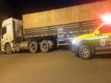 Maracaju: PMRv Base Vista Alegre recupera carreta roubada no estado de São Paulo