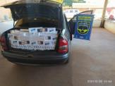 Maracaju: Veículo com 700 pacotes de cigarros é apreendido pela PMRv