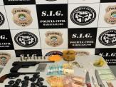 Maracaju: Ação conjunta da Polícia Civil e Militar desarticula braço de organização criminosa na região da grande Dourados