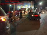 Maracaju: Bombeiros atendem acidente entre carro e motocicleta na área central