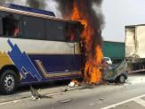 Acidente na Dutra deixa 6 mortos e 7 feridos; veja fotos