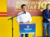 Com apoio da Prefeitura de Maracaju, Projeto Bombeiros do Amanhã atende crianças e jovens em Maracaju