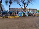 """Equipe maracajuense de mountain bike  participa do """"1° Marathon - Morro do Chapéu"""" na cidade de Dourados"""