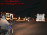 Maracaju: Bombeiros atendem ocorrência de acidente em minianel rodoviário, mas condutor desapareceu