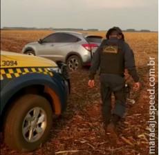 Maracaju: PMRV apreende veículo com quase uma tonelada de maconha