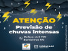 A  Prefeitura de Maracaju informa um novo Alerta para chuvas intensas e ventos de até (50-100Km/h)