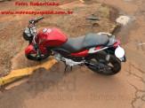 Maracaju: Corpo de Bombeiros atendem ocorrência de colisão entre motocicleta e veículo na Vila Juquita