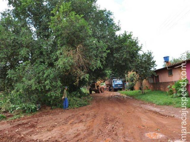 Prefeitura de São Gabriel do Oeste realiza obras de recuperação e limpeza de vias públicas