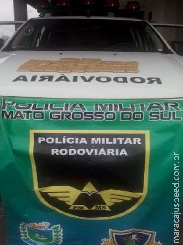 PRE apreende 500 munições calibre .38 em rodovia que dá acesso a Maracaju