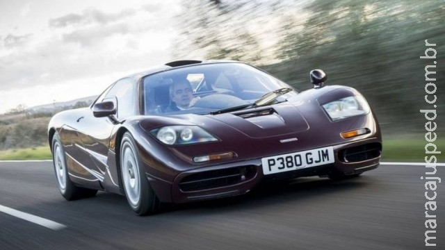 Ator de Mr. Bean quer vender seu McLaren F1 por R$ 31 milhões