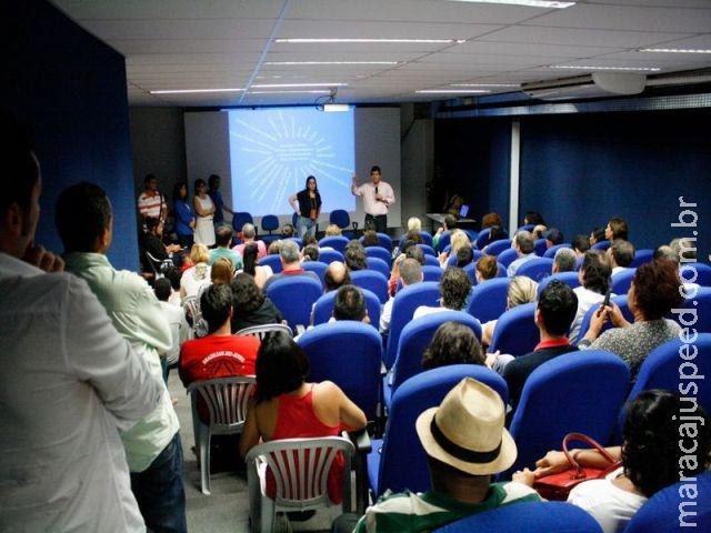 SECTEI e FCMS se reúne com Fórum Estadual de Cultura, Fórum Estadual de Gestores Culturais e artista
