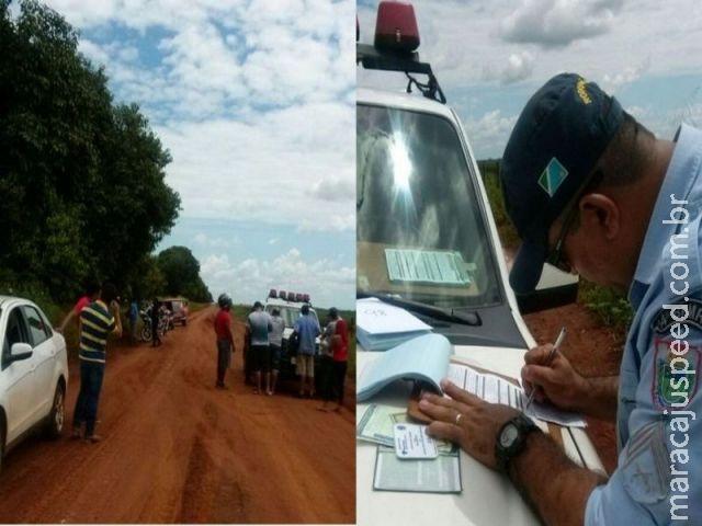 PRE recolhe documentos e aplica notificações nas rodovias que dão acesso à Capital