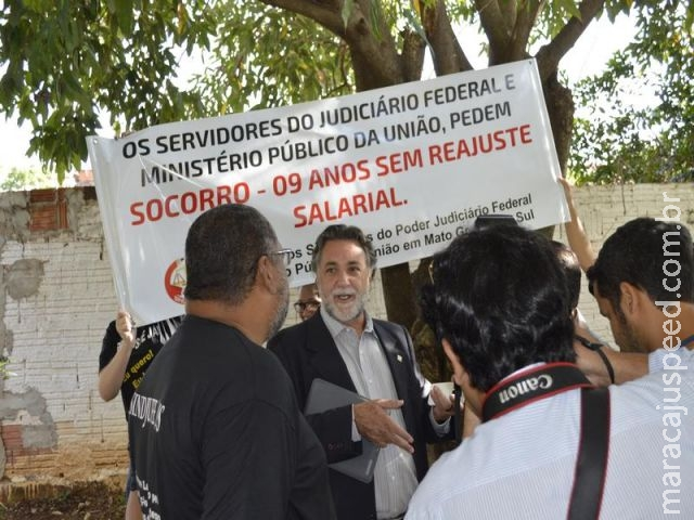Campo Grande: Dilma manda impedir entrada de manifestantes do judiciário federal na solenidade de in