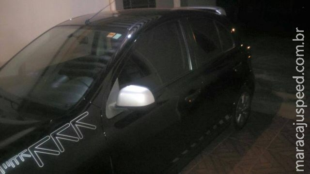 Maracaju: Ação de bandidos resulta em carro roubado próximo à agência bancária