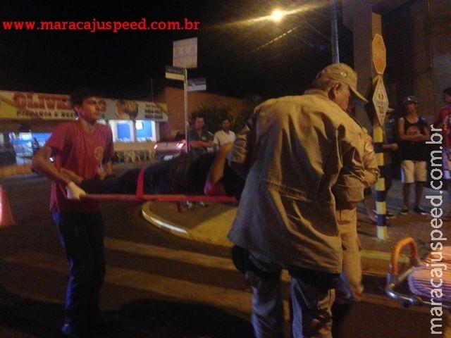 Maracaju: Veículo invade preferencial e causa acidente na 11 de Junho
