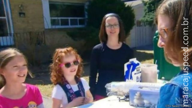 Menina canadense arrecada R$ 60 mil vendendo limonada para combater doença