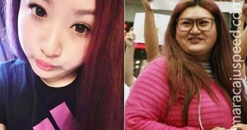Chinês faz a namorada engordar 40 quilos para não ficar atraente