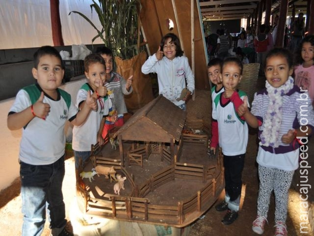 Maracaju: Projeto Fazendinha traz crianças para a 47ª Expomara