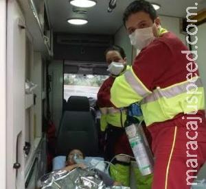 Bebê nasce em viatura de resgate em Dourados