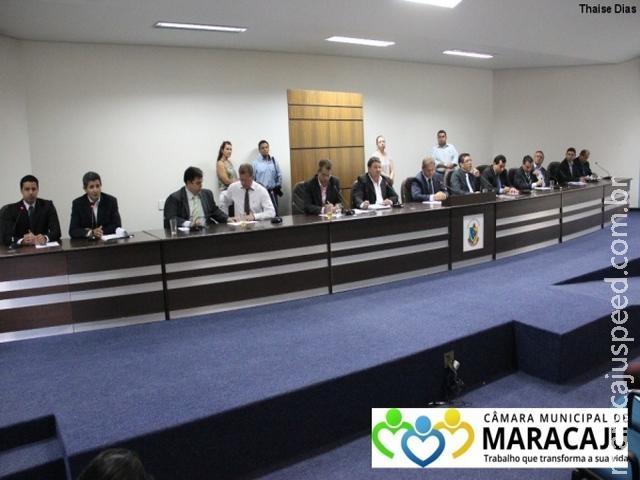 Câmara Municipal de Maracaju aprovou por UNANIMIDADE projeto de lei do Executivo que reduz a Cosip