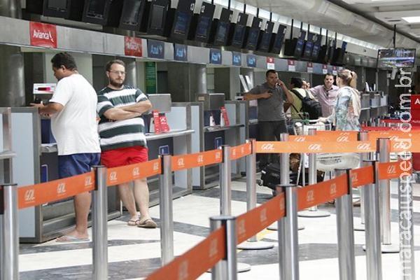 Com greve em aeroportos, Capital registra um cancelamento e dois atrasos