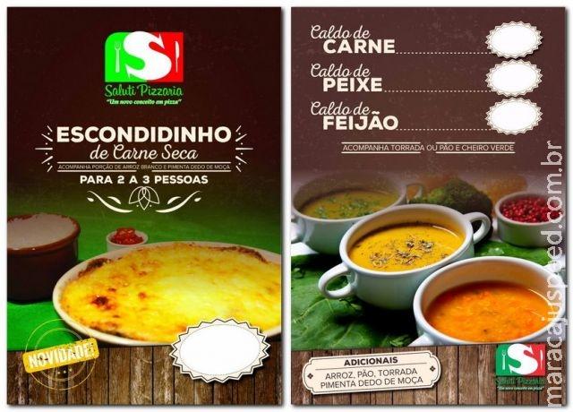 Maracaju: Saluti Pizzaria lança mais duas Deliciosas Novidades para você