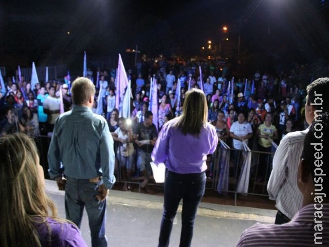 Coligação Atitude Para Governar realizou comício no Distrito Vista Alegre