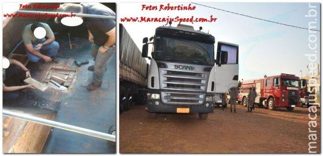 Polícia Federal apreende mais de 1 tonelada de maconha em Maracaju