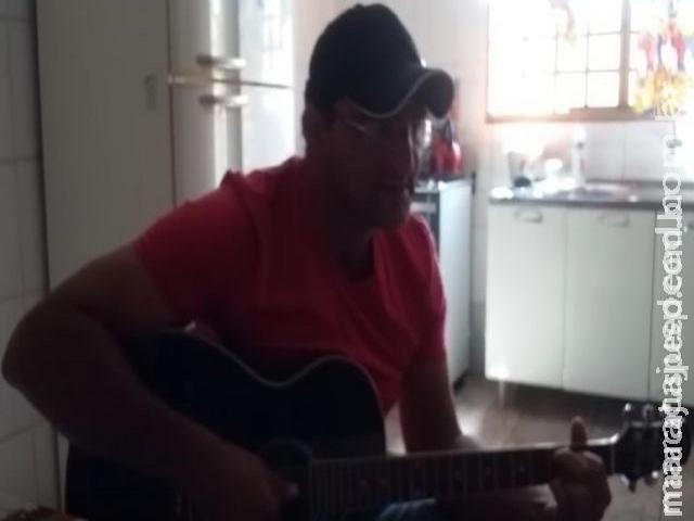 Cantor maracajuense falece após se envolver em acidente na Rua Campo Grande