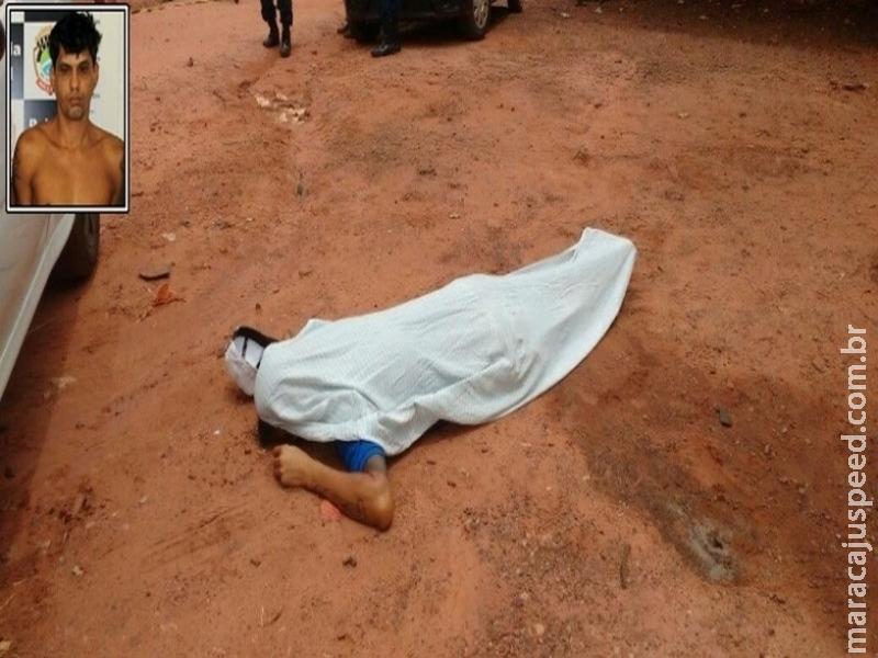 Maracajuense é assassinado a tiros por atual de sua ex-mulher