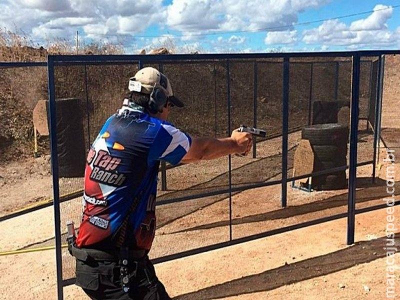 Projeto autoriza atirador esportivo a transportar arma com munição