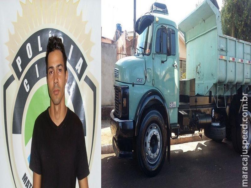 Maracaju: Polícia Civil identifica autor de estelionato que deu golpe em vítima levando seu caminhão