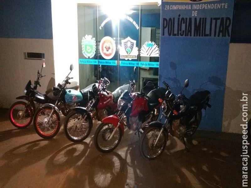 Maracaju: Polícia Militar apreende motocicletas e prende dois condutores em flagrante por dirigir embriagado e um dos autores ameaça policiais