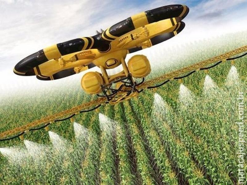 Agricultura será um dos maiores compradores de drones nos próximos anos