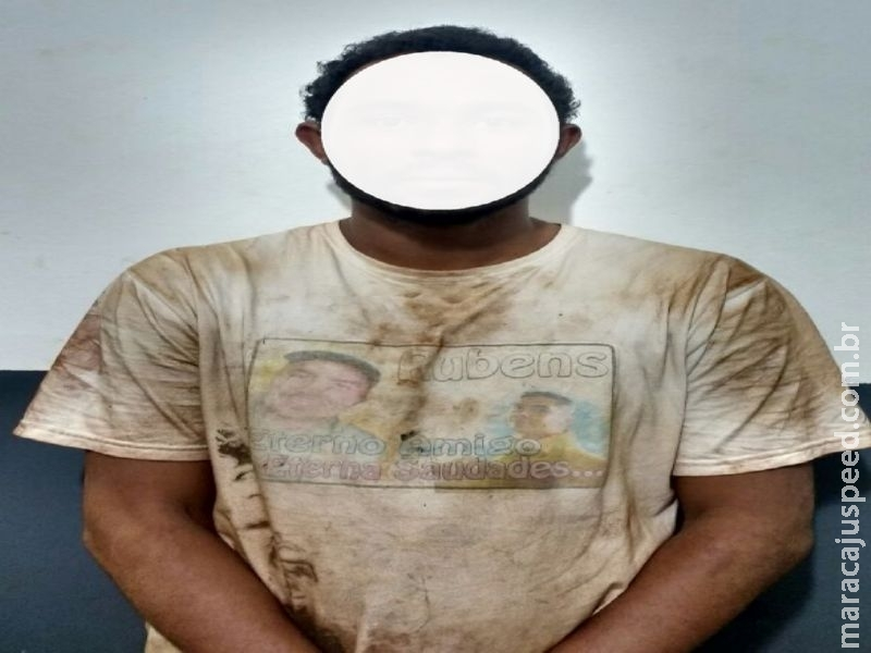 Maracaju: Polícia Militar cumpre mandado prisão na Vila Margarida