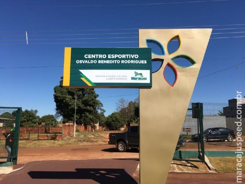 "Centro Esportivo ""Osvaldo Benedito Rodrigues"" foi inaugurado no domingo"