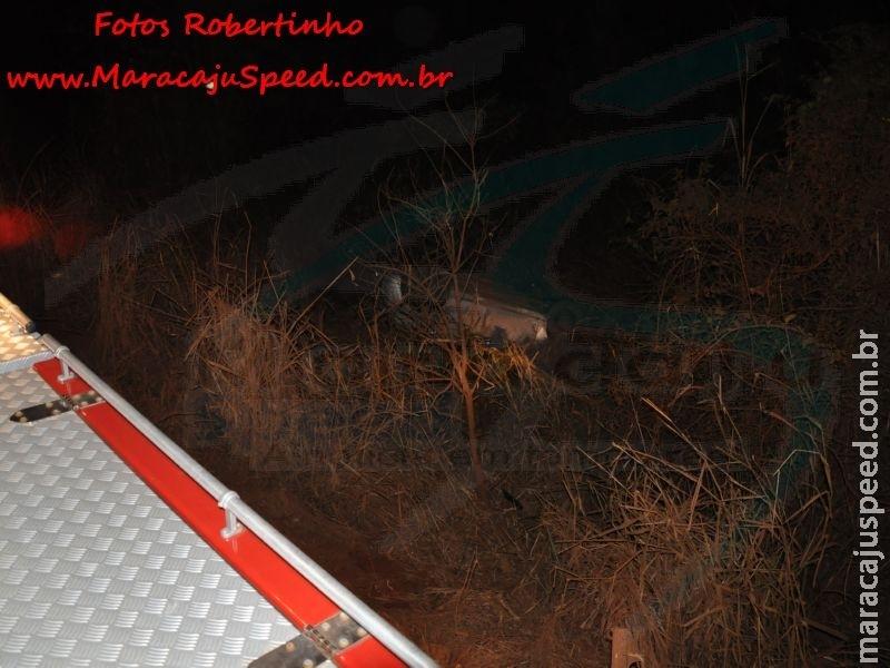 Maracaju: Indígena andando em meio a estrada ocasiona capotamento de veículo na MS-162