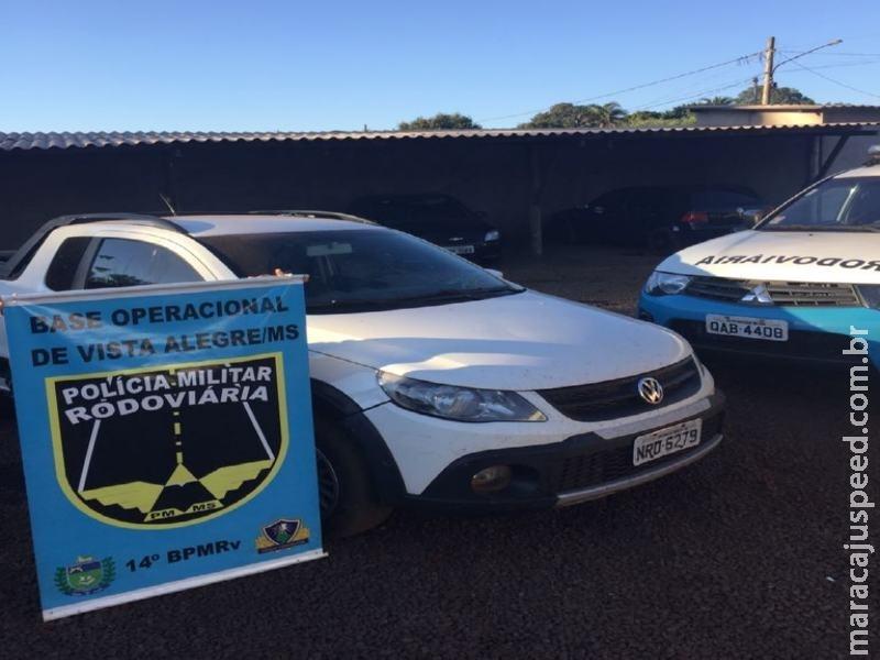 """Maracaju: PRE BOP Vista Alegre recupera veículo produto de """"Roubo"""""""